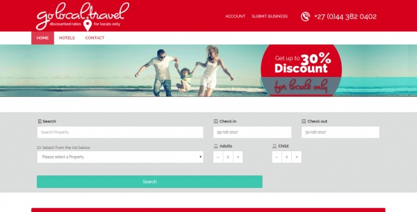 Online Booking Platform Website