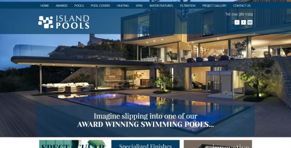 Pool Manufacturer Website