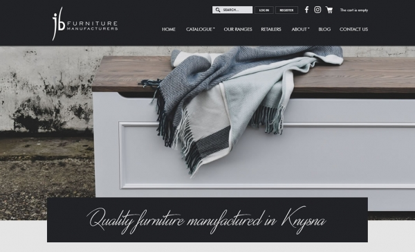 Online Furniture Shop Website